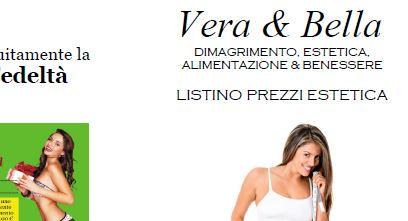 scarica il nuovo listino Vera & Bella gennaio 2018